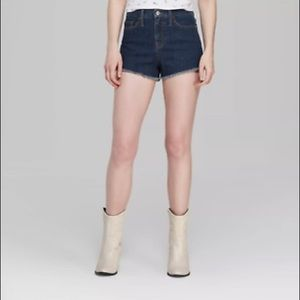 Wild Fable High Rise Shorts Frayed Cut Off Shorts
